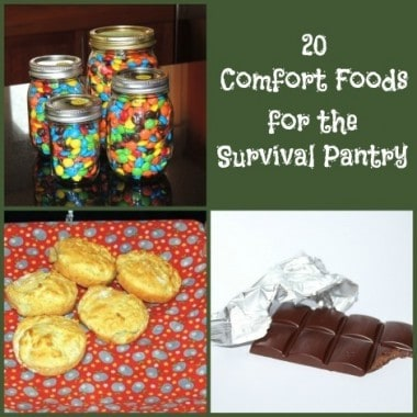 20 Comfort Foods for the Survival Pantry