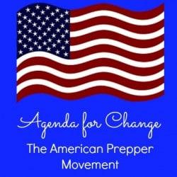 Agenda for Change American Prepper Movement - Backdoor Survival