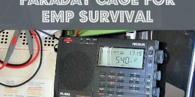 How to Build a Simple Faraday Cage for EMP Survival