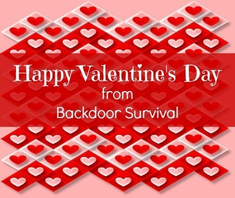 Happy Valentines Day from Backdoor Survival
