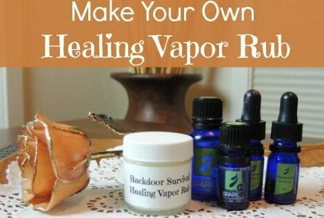 DIY Healing Vapor Rub for Coughs & Congestion