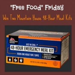 Mountain House 48 Hour Meal Kit - Backdoor Survival