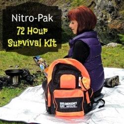 Nitro-Pak 72 Hour Emergency Kit - Backdoor Survival