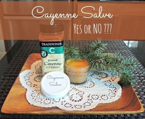 Cayenne Salve - Does it Work? - Backdoor Survival