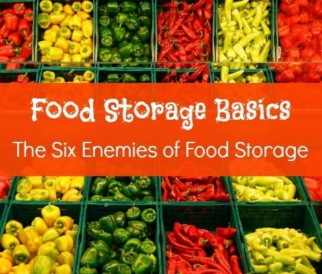 The Six Enemies of Food Storage - Backdoor Survival