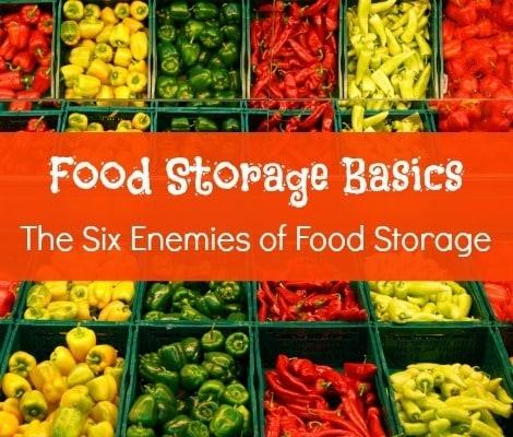 The Six Enemies of Food Storage - Backdoor Survival