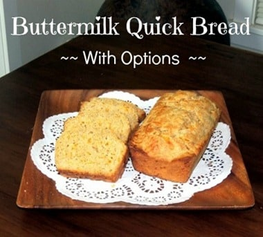 Buttermilk Cheese Bread - Backdoor Survival