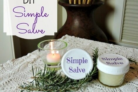 DIY Simple Salve: An All Purpose, All Natural  Ointment and Carrier Oil