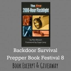 New 2000 Hour Flashlight - Backdoor Survival
