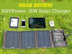 Gear Review: RAVPower 15W Solar Charger with Dual USB Ports