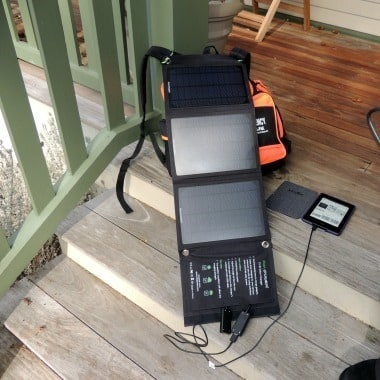 RavPower 15W Solar Charger - Backdoor Survival