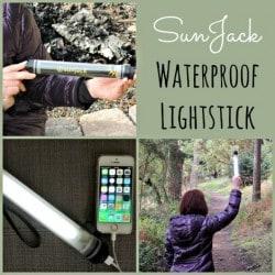 Review of the Sunjack Waterproof Lightstick - Backdoor Survival