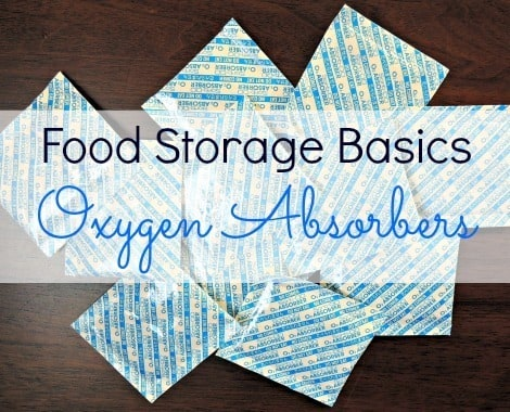 Food Storage Basics Oxygen Absorbers - Backdoor Survival