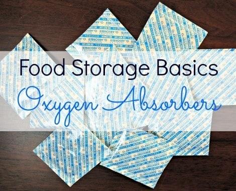 Food Storage Basics Oxygen Absorbers - Backdoor Survival