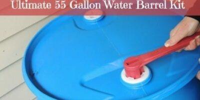 Win a 55 Gallon Water Barrel