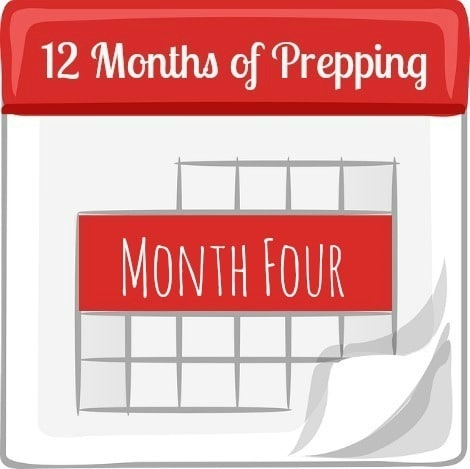 12 Month of Prepping Month Four - Backdoor Survival