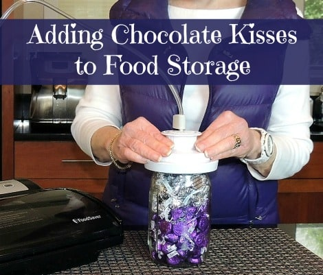 Adding Chocolate Kisses to Food Storage - Backdoor Survival