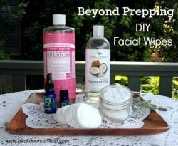 Survival Buzz: Beyond Prepping with DIY Facial Wipes
