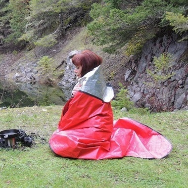 Emergency Blanket - 10 Ways Hiking Can Help You Be Better Prepared - Backdoor Survival