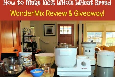 How to Make Whole Wheat Bread Using the WonderMix