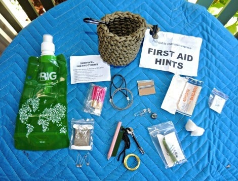 Items in the Life-Pod Paracord Survival Kit - Backdoor Survival
