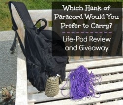 Life Pod Paracord Survival Kit Review & Giveaway - Backdoor Survival