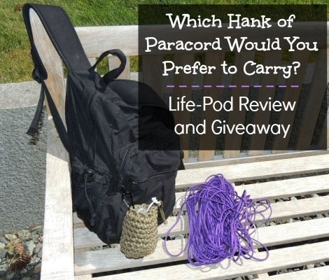 Which Hank of Paracord Would Your Prefer - Life-Pod Review - Backdoor Survival