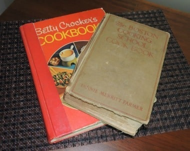 Two of My Old Cookbooks - Backdoor Survival