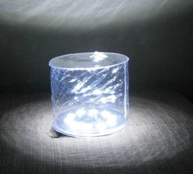Circle of Light from the Solar Air Lantern - Backdoor Survival