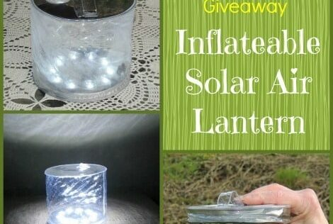 Review: Inflatable Solar Air Lantern for Emergencies