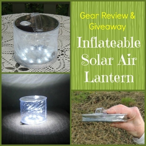 Gear Review & Giveaway - Solar Air Lantern - Backdoor Survival
