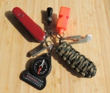 Survival Key Ring - Backdoor Survival