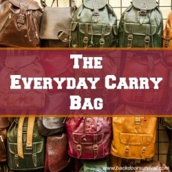 Best Practices: The Every Day Carry Bag aka EDC