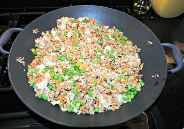 Fried Rice from Food Storage - Backdoor Survival