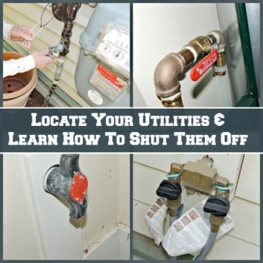 Survival Buzz: Locate Your Utilities and Learn to Shut Them Off