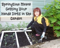 Springtime Means Getting Your Hands Dirty - Backdoor Survival