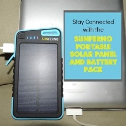 Sunferno Portable Solar Panel and Battery Pack - Backdoor Survival