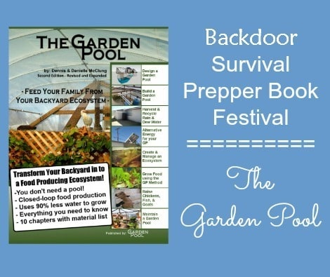Prepper Book Festival - The Garden Pool - Backdoor Survival