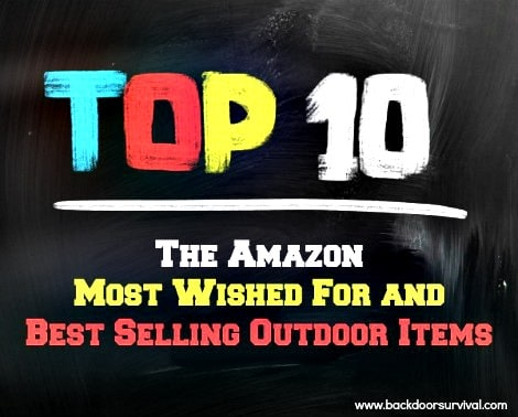 Amazon Top 10 Most Wanted - Backdoor Survival
