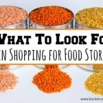 What to Look for When Shopping for Food Storage