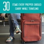 30 Items Every Prepper Should Carry When Traveling