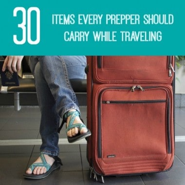 Items Every Prepper Should Carry While Traveling