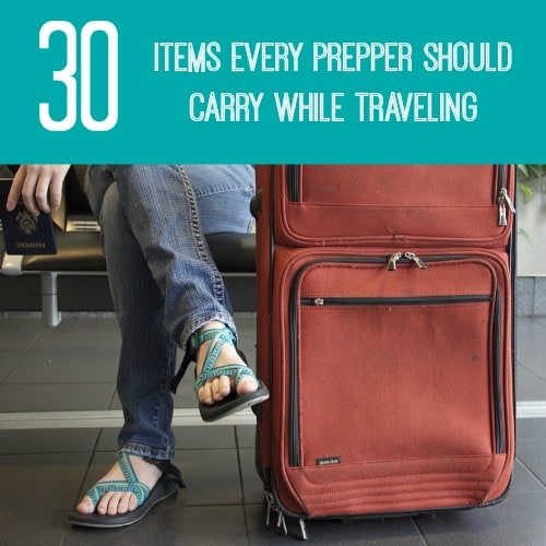 30 Items Every Prepper Should Carry While Traveling - Backdoor Survival