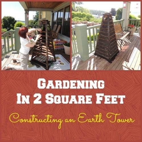 Survival Buzz Earth Tower Gardening - Backdoor Survival