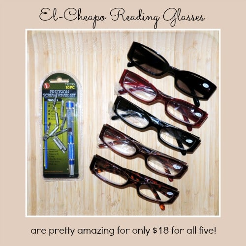 El Cheapo Reading Glasses - The Survival Buzz on Backdoor Survival