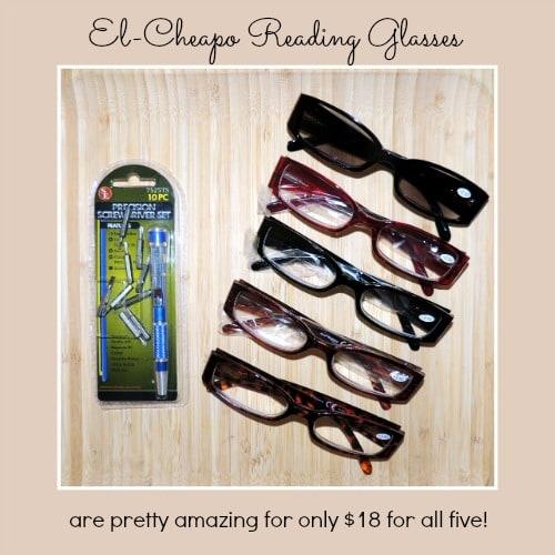 El Cheapo Reading Glasses - The Survival Buzz on Backdoor Survival