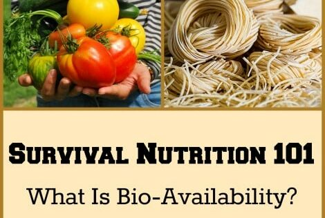 Survival Nutrition 101: What Is Bio-Availability?