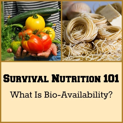 Survival Nutrition 101 - Backdoor Survival