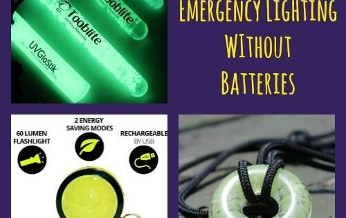 UV PAQLITE: Emergency Lighting Without Batteries