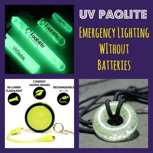 UV PAQLITE  Emergency Lighting Without Batteries - Backdoor Survival